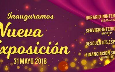 Inauguración de nueva exposición 31 de Mayo