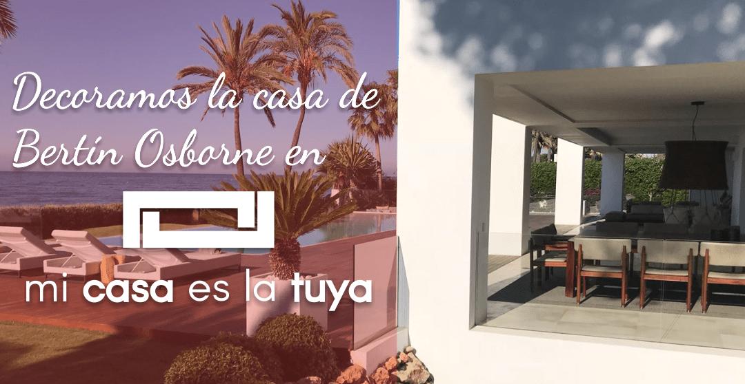 """Muebles Hermanos Herrera en """"Mi casa es la tuya"""" con Bertín Osborne y Lolita"""