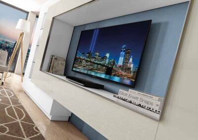 Muebles de salón modernos para disfrutar de momentos especiales