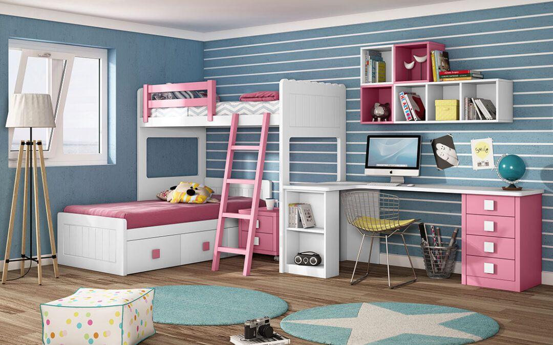 Dormitorios Juveniles llenos de vitalidad, luz y color