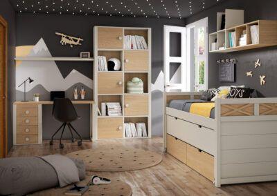 Dormitorios juveniles para ser felices