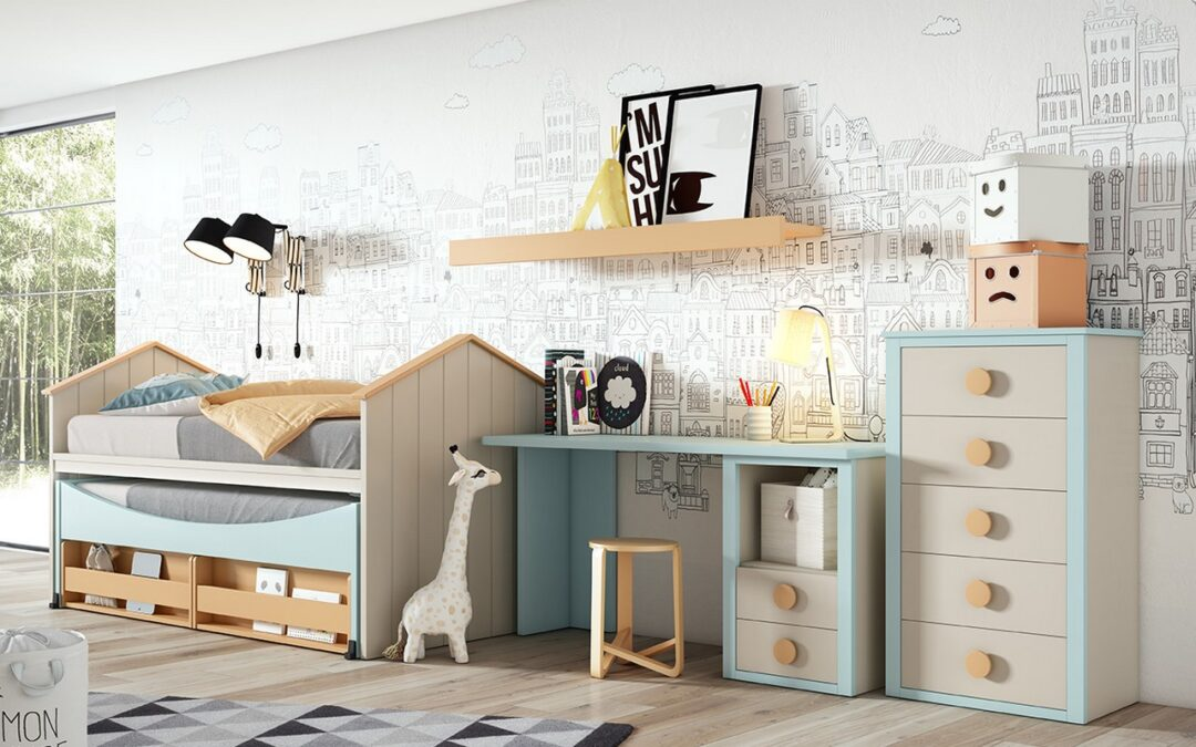 Dormitorios juveniles para crecer con espacio propio