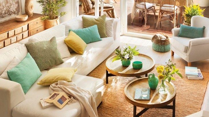 Tendencias de decoración primavera 2021 para tu salón y dormitorio.